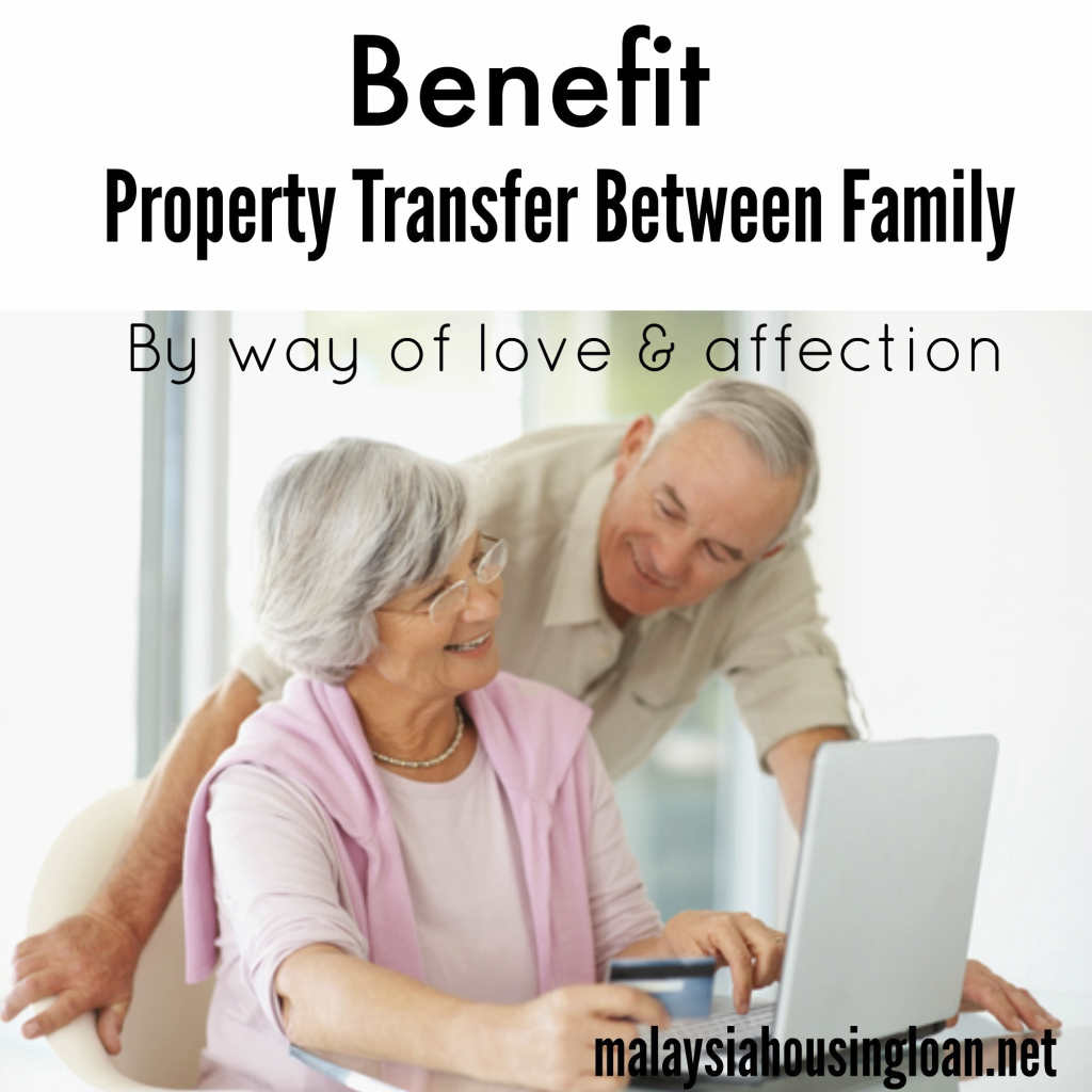 Benefit Property Transfer Between Family