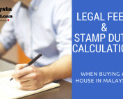 Legal fees & stamp duty calculation when buying a house in Malaysia
