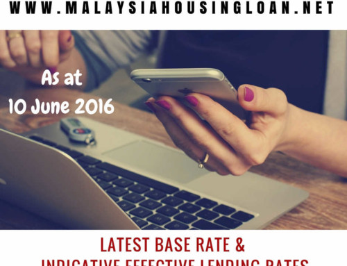 Latest Base Rate And Indicative Effective Lending Rates 10 June 2016