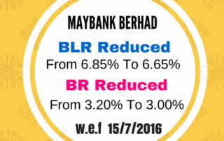 maybank reduce interest rates