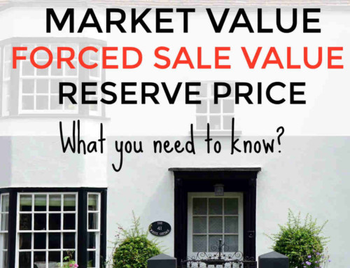 Market Value, Forced Sale Value & Reserve Price