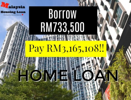 Borrow RM733,500 and Pay RM3,165,108.84!! (4x times more from original loan)