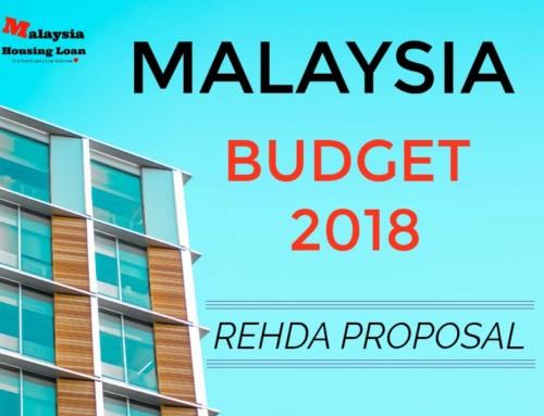 Budget 2018 ( Bajet 2018 ) – Rehda Proposal